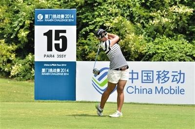 中国高尔夫饭老外不易吃活跃在国内赛场的老外们