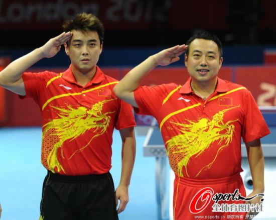 刘国梁怎么就命令王皓让球了?