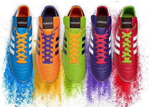阿迪達斯發布限量版桑巴系列Copa Mundial,五彩穿越喚起夢的傳承。