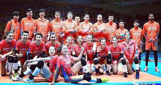 2017中国排球联赛•光明优倍全明星赛 炫酷开幕