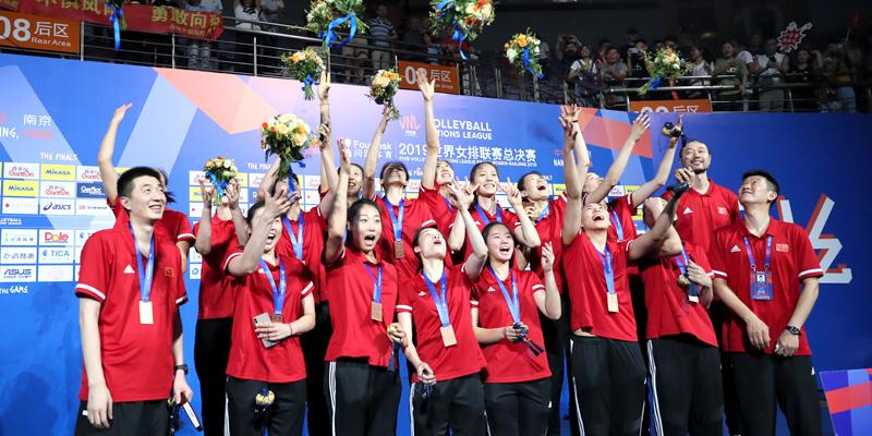 中国女排复仇劲旅土耳其 荣膺2019女排世联赛季军