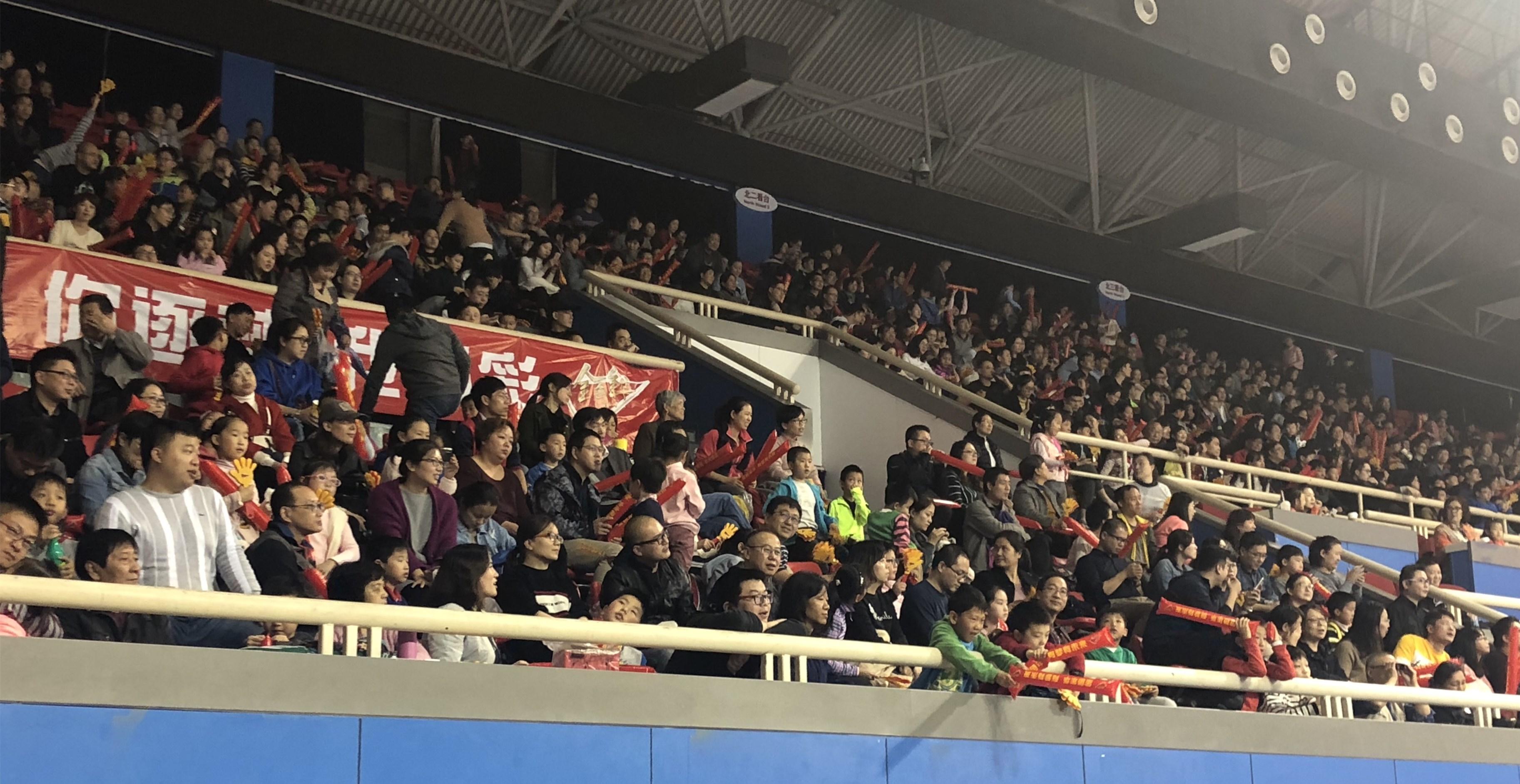 上海男排球迷