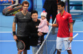 Semifinal of 2014 China Open ATP Singles: Li Xiaopeng and his daughter tossed for the match