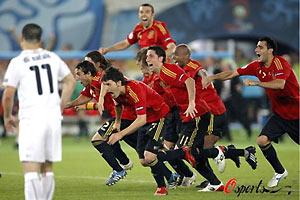 意大利出局! 西班牙挺进4强!