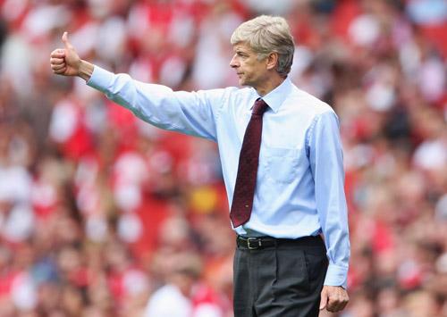 温格:阿森纳实力在英超中最强与曼联仅有一项差距