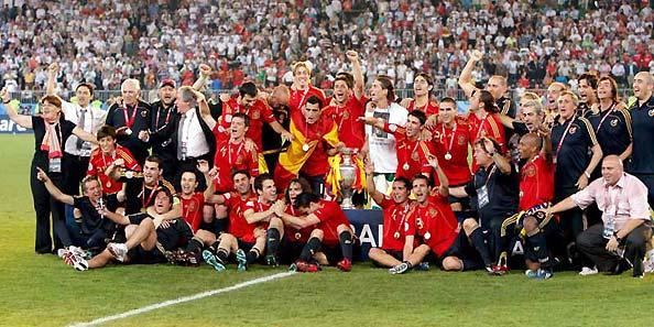 西班牙夺冠更有里程碑式意义足球原来应该这么踢