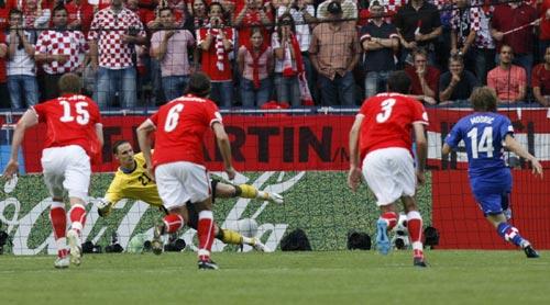 图文-[欧洲杯]奥地利VS克罗地亚点球这样进球门