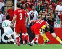 图文-[欧洲杯]捷克vs葡萄牙葡萄牙队德科射门瞬间