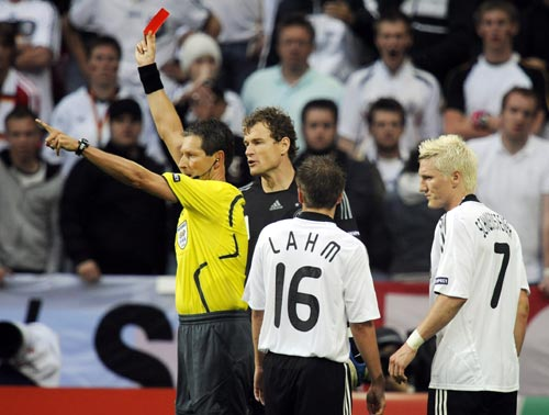图文-[欧洲杯]克罗地亚2-1德国裁判让小猪走人