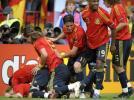图文-[欧洲杯]瑞典VS西班牙西班牙球员已不能平静