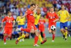 图文-[欧洲杯]俄罗斯VS瑞典伊格纳舍维奇大脚破坏
