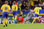 图文-[欧洲杯]俄罗斯VS瑞典阿尔沙文进球瞬间