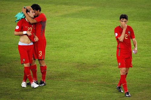 图文-[欧洲杯]葡萄牙2-3德国葡萄牙人悲壮告别