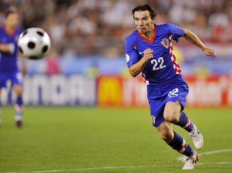 图文-[欧洲杯]克罗地亚VS土耳其普兰季奇浑身是劲