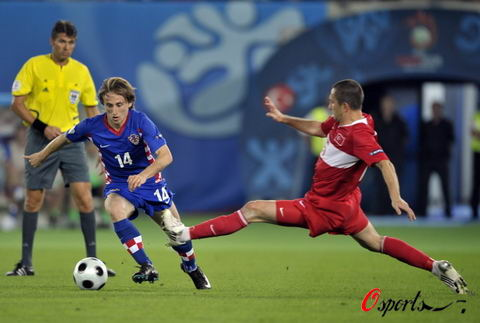 图文-[欧洲杯]克罗地亚VS土耳其别想那么舒服过去