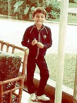 图文-钢铁之师德国国脚童年照从小就很腼腆的库兰伊