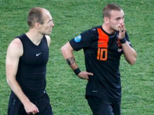 荷兰饮恨出局 斯内德铁汉落泪