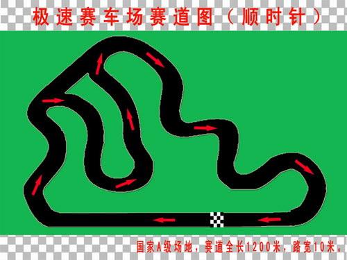 08全国卡丁车锦标赛场地介绍深圳极速赛车场