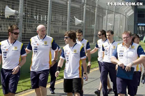 阿隆索给予雷诺强大动力车队承诺要打造一流赛车