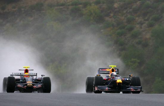 F1季前试车两地重起红牛丰田09新车占据首日领先