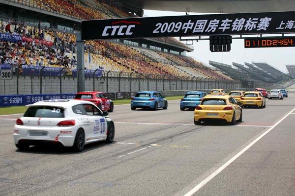 伯劳德赢得大众汽车中国赛车尚酷杯第二回合胜利