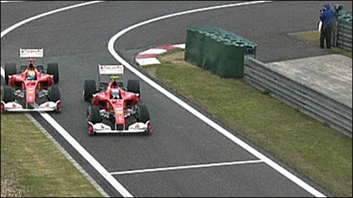 多梅尼卡利评阿隆索超马萨:这仅仅是个比赛事故
