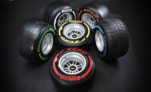 倍耐力F1轮胎