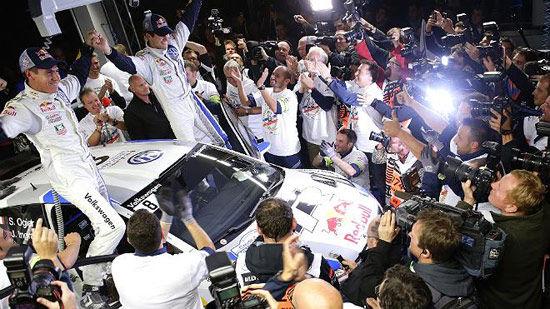 WRC法国站:奥吉尔提前加冕年度冠军
