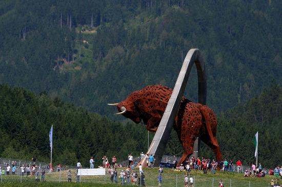 奥地利站实为红牛的主场