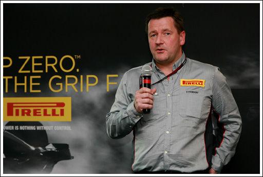 倍耐力全球赛车运动总监Paul Hembery