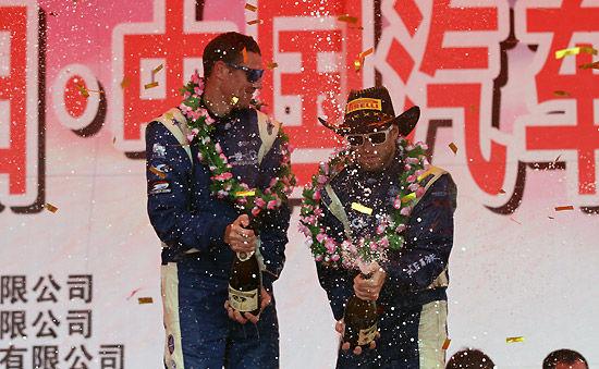 一汽大众车队阿特金森车组获得全场冠军