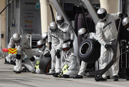 梅奔F1维修站成员
