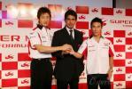 图文-超级亚久里F1车队官方发布会 期待新赛季