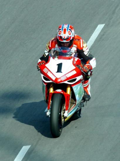 图文-澳门格兰披治摩托车赛英国车手普莱特