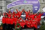 图文-WRC爱尔兰站勒布夺冠雪铁龙集体大联欢