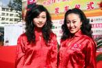 图文-红河车队出征达喀尔拉力赛靓丽红河赛车宝贝