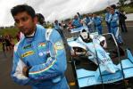 图文-A1澳大利亚站冲刺赛 印度队车手卡斯基延