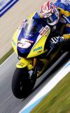 图文-MotoGP西班牙站排位赛雅马哈车队爱德华兹