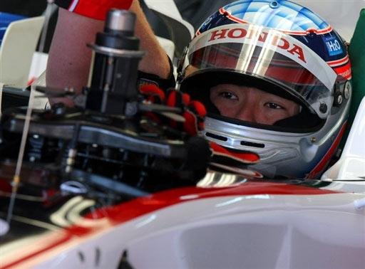 图文-F1西班牙站排位赛超级亚久里车队佐藤琢磨