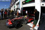 图文-F1法国大奖赛排位赛汉密尔顿如困兽出笼