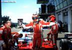 """图文-F1法国大奖赛排位赛莱科宁在F2008中""""跳舞"""""""