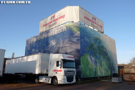 图文-本田F1车队静待买家本田的环保概念依旧可见