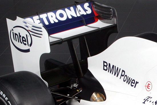 图文-宝马-索伯发布F1.09尾翼端板前缘有个凹槽