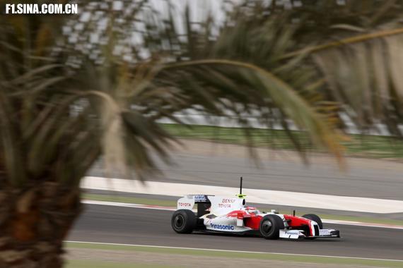 图文-F1巴林试车(2月18日)格洛克名列全场最快