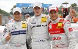 排位赛前三名车手