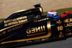 图文-F1车队集体祝福库比卡 车身张贴祝福标语
