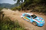 贵州车手毛建林在比赛