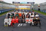 新赛季F1车手全家福