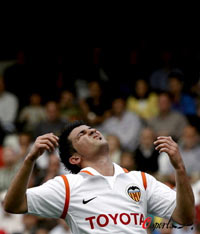西甲-瓦伦西亚主场0-3落败萨拉戈萨惨遭客场5连败