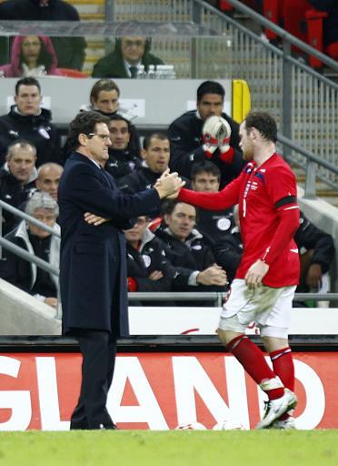 卡佩罗钦点鲁尼当英格兰队长天才升华射手王有一诀窍